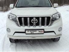 """Защита переднего бампера TOYLC15013-02 """"TCC"""" на Toyota Prado 150 с 2013г. выпуска"""