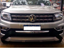 "Пластиковая защита переднего бампера OE-Style ""WINBO"" на Volkswagen Amarok"