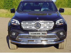 "Нижняя защита переднего бампера MERXCL18-08 ""TCC"" на Mercedes-Benz X-Class"