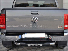 """Задняя подножка """"ARP"""" на Volkswagen Amarok"""