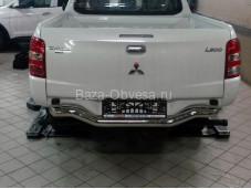 "Защита заднего бампера MIL2.55.6030 ""Can Otomotiv"" на Fiat Fullback с 2015г. выпуска"