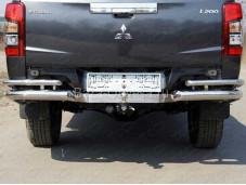 """Защита задняя MITL20019-52 """"TCC"""" на Mitsubishi L200 с 2019г. выпуска"""