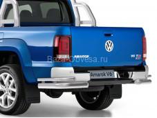 "Защита заднего бампера ""RIVAL"" на Volkswagen Amarok"