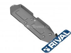 "Алюминиевая защита топливного бака 4мм. 333.5821.1 ""RIVAL"" на Volkswagen Amarok"