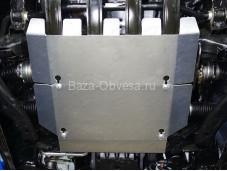 """Алюминиевая защита картера двигателя ZKTCC00212 """"ТСС"""" на Volkswagen Amarok"""