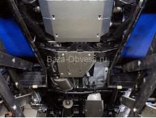 """Алюминиевая защита раздаточной коробки """"ТСС"""" на Volkswagen Amarok"""