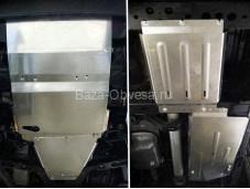 "Защита картера двигателя, радиатора, кпп и рк ""TCC"" на Mercedes-Benz X-Class"