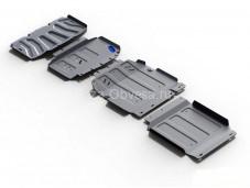 "Защита картера двигателя, радиатора, КПП и РК ""RIVAL"" на Mercedes-Benz X-Class"