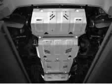 Защита двигателя K333.4046.3.6 для Pajero Sport III с 2015г. выпуска