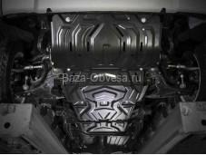Защита двигателя K111.4046.3 для Pajero Sport III с 2015г. выпуска