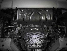Защита двигателя K222.4046.3 для Pajero Sport III с 2015г. выпуска