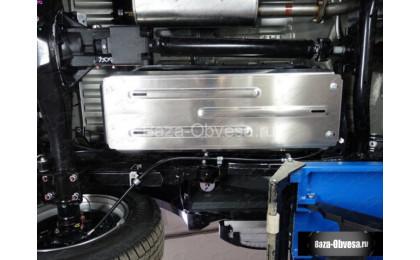"""Защита топливного бака """"TCC"""" на Mitsubishi L200 с 2015г. выпуска"""