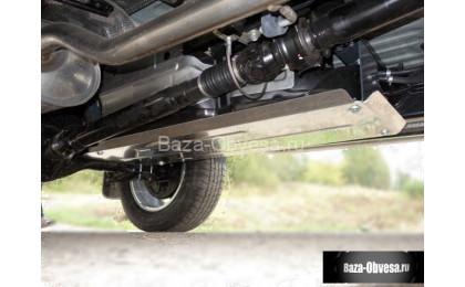 """Защита топливного бака """"TCC"""" на Fiat Fullback с 2015г. выпуска"""