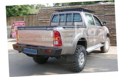Задний буксировочный бампер KDT для Toyota Hilux