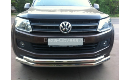 Двойная защита переднего бампера d76/60 для Volkswagen Amarok