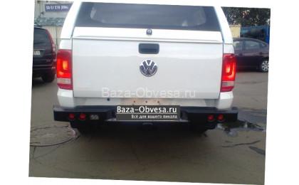 "Бампер задний усиленный ""DDR"" на Volkswagen Amarok"