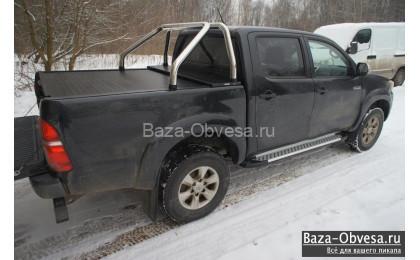 """Защитная дуга 60 мм в кузов """"Afcarfiber"""" на Volkswagen Amarok"""