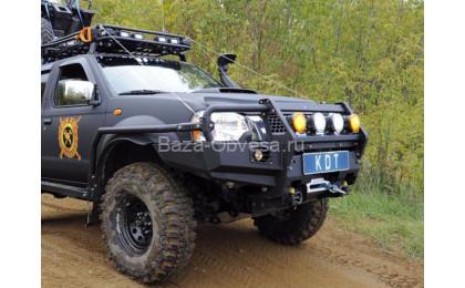 "Передний усиленный бампер ""KDT"" для Nissan NP300"