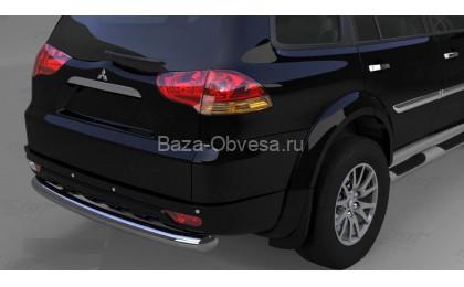 Защита заднего бампера для Pajero Sport до 2014г. выпуска