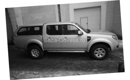 """Кунг Canopy Fixed Window """"Doga Fiber"""" на Mazda BT-50"""