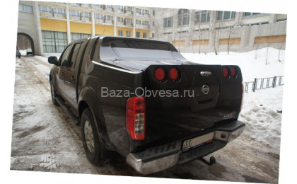 "Крышка Grandbox VIP ""Doga Fiber"" на Nissan Navara"