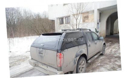 "Кунг Canopy Fixed Window ""Doga Fiber"" на Nissan Navara"