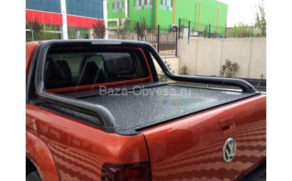 """Алюминиевая крышка кузова Rollback """"Afcarfiber"""" на Volkswagen Amarok"""
