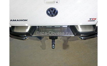 "Накладка на задний бампер VWAMAR17-48 ""TCC"" на Volkswagen Amarok"