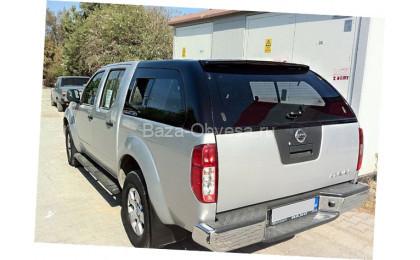 "Кунг Canopy Sliding Window ""Doga Fiber"" на Nissan Navara"