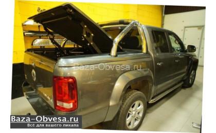 "Крышка кузова TS2 с дугами и рейлингами ""TopUp"" на Volkswagen Amarok"