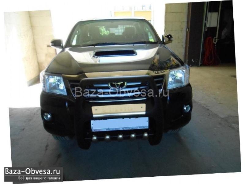 Защита переднего бампера Pasific для Toyota