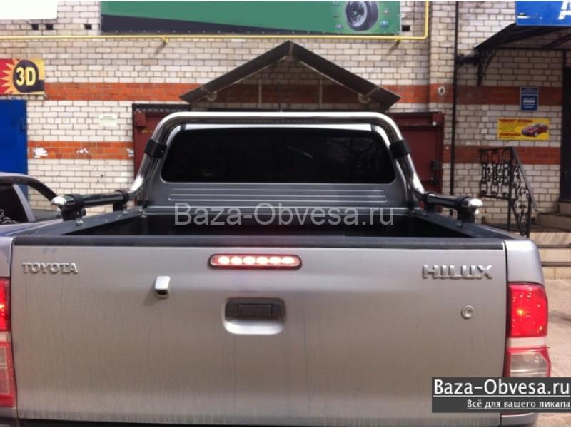 Защитная дуга в кузов  AHTAPOT 60 мм.  для пикапа Toyota Hilux