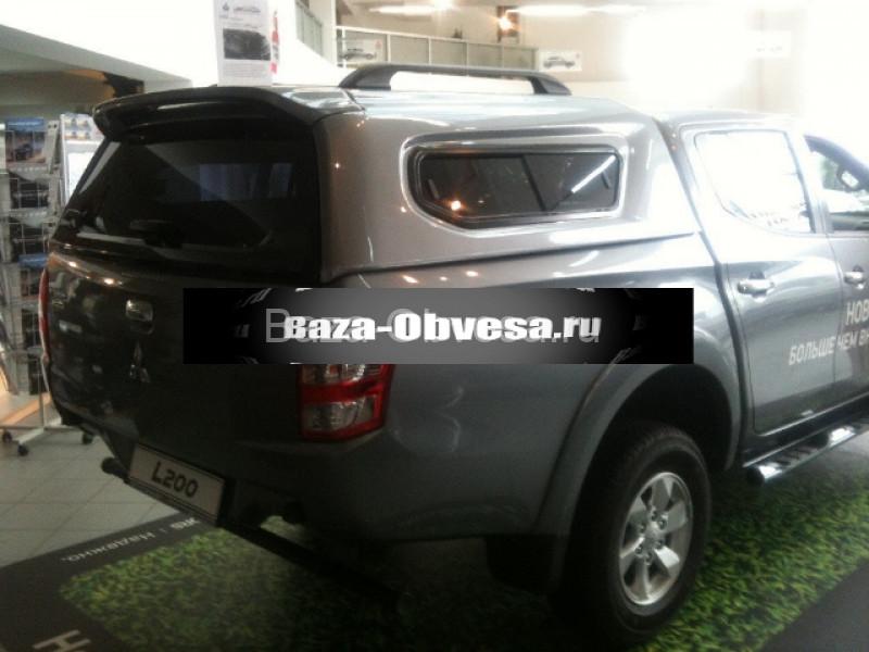 Купить кунг с боковыми раздвижными окнами для пикапа Mitsubishi L200