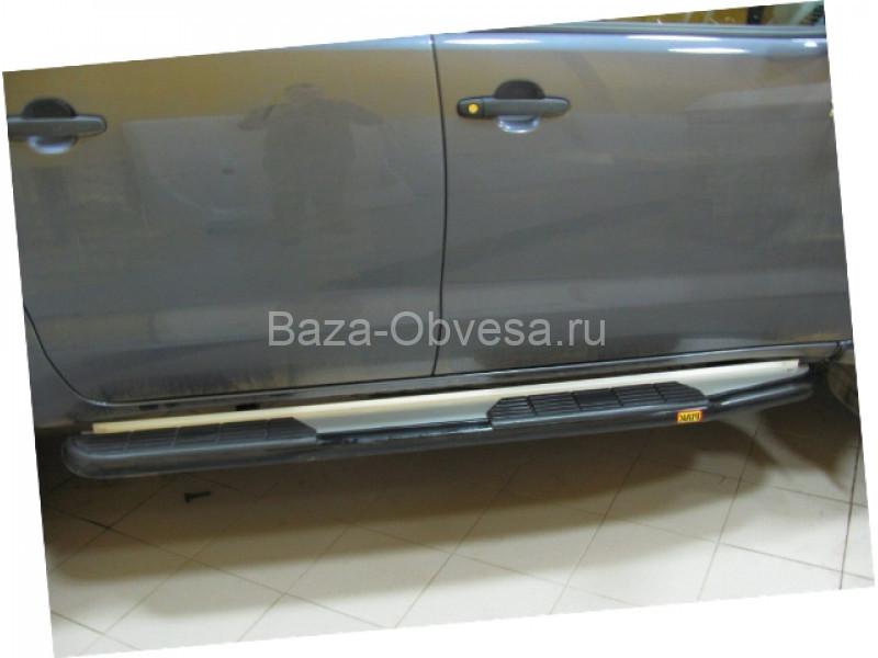 УСИЛЕННЫЕ ПОРОГИ PIAK ДЛЯ MAZDA BT-50