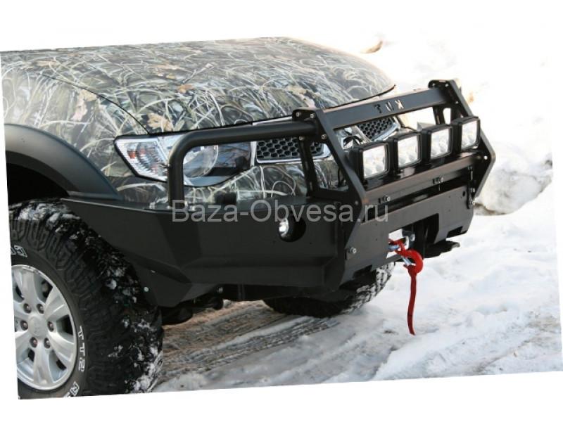"Бампер передний усиленный ""KDT"" на Mitsubishi L200 с 2006 до 2013г. выпуска"
