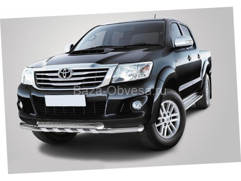 Защита бампера для пикапа Toyota Hilux